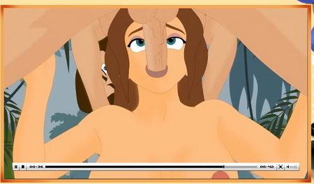 Cartoon sex vids – Tarzan & Jane hentai