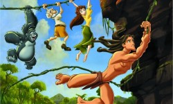 Tarzan and Jane in different images - Disney Sex Cartoon Tarzan and Jane