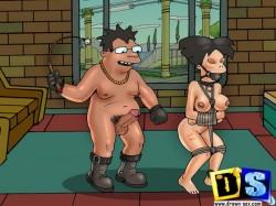 Porntoons Gallery - Futurama slavegirls in action! - Amy Hot Futurama Sex Leela Porn