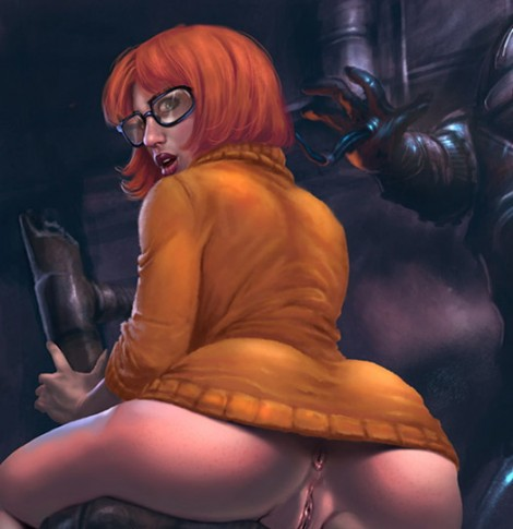 Velma hentai cartoon