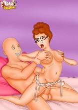Huge dicks for huge jugs - All Cartoon Porn