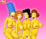 Flintstones and Simpsons - TV Cartoons