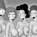Simpsons, Griffins, Flinstones - Simpsons Sex